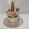 Tarta cumpleaños unicornio coruña personalizada