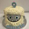 Tarta cumpleaños personalizada decorada monstruo monstruo coruña