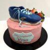 tarta cumpleaños decorada running coruña